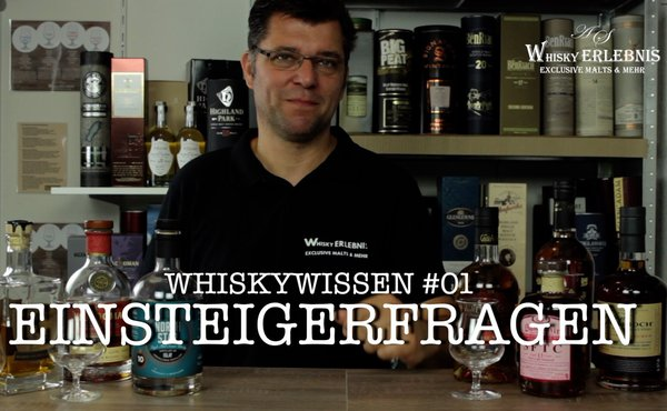 Video Whiskywissen, Einsteigerfragen