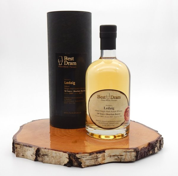 Ledaig 10 Jahre Bourbon Barrel 59,3% 0,7l (Best Dram)