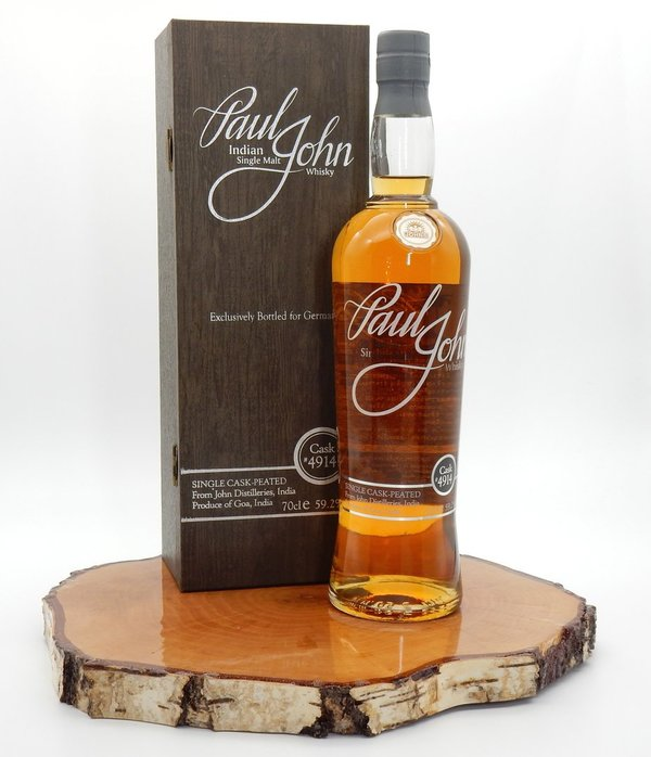 Paul John Single Cask Peated #4914 59,2%