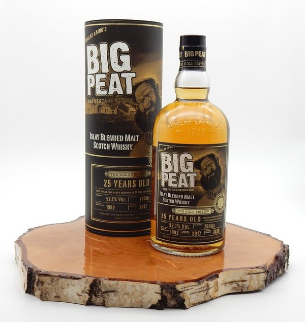 Big Peat 1992/2017 25 Jahre The Gold Edition 52,1% (Douglas Laing)