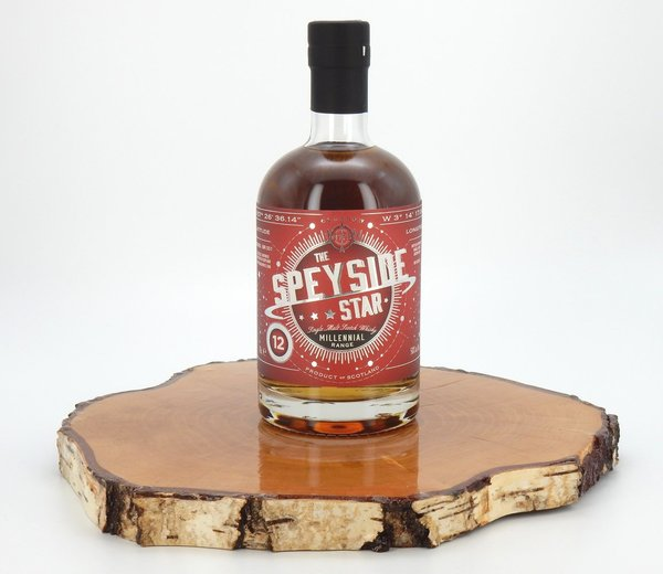 The Speyside Star - Millennial Range BR001 50% (North Star Spirits)