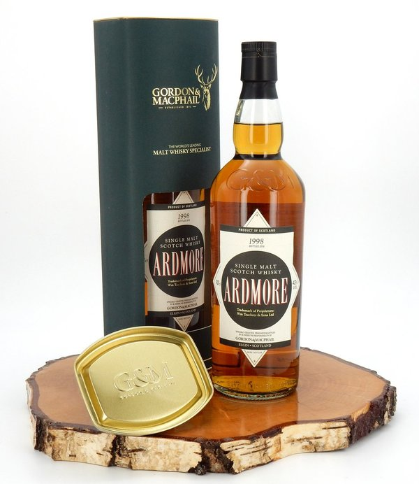 Ardmore 1998/2016 17 Jahre Distillery Label 43% (Gordon & MacPhail)