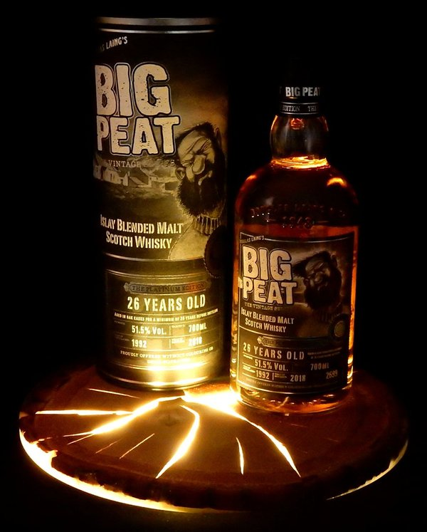 Big Peat 1992/2018 26 Jahre Platinum Edition 51,5% (Douglas Laing)