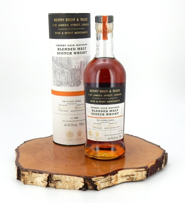 Blended Malt Scotch Whisky Sherry Cask Matured 44,2% (Neues Design) (Berry Bros & Rudd)