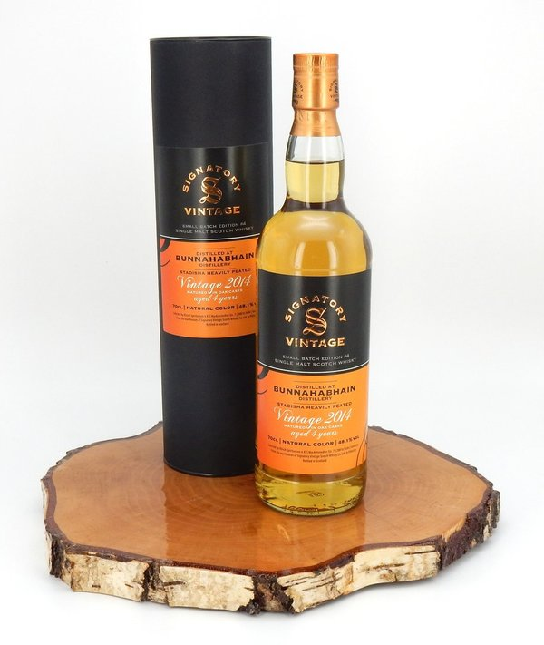 Bunnahabhain 2014/2019 Small Batch Edition #4 Staoisha Alligator-Cask 48,1% (Signatory Vintage)