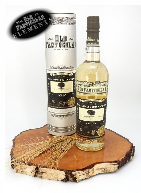 Caol Ila 8 Jahre 2010/2019 Elements Earth - Old Particular 58,4% Vol. (Douglas Laing)