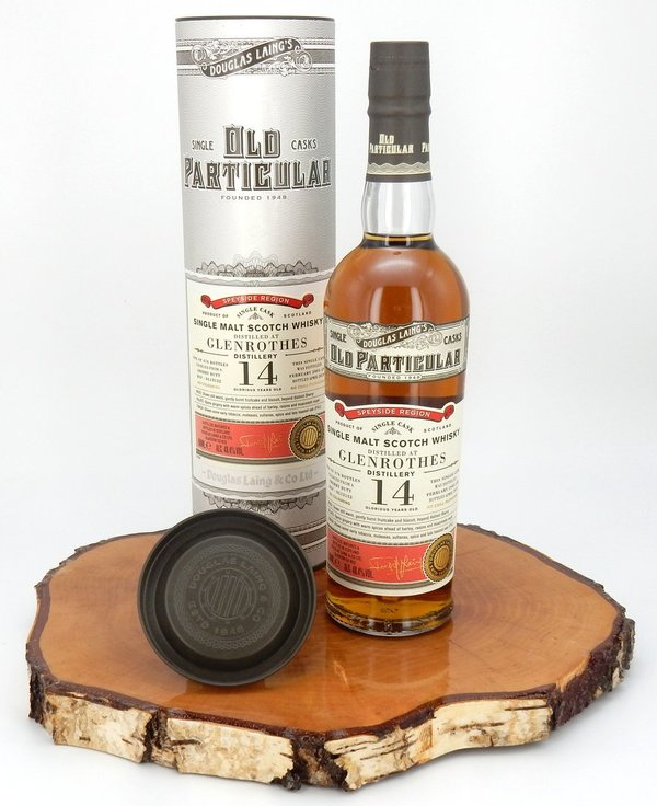 Glenrothes 14 Jahre 2005/2019 - Old Particular 48,4% Vol. (Douglas Laing)