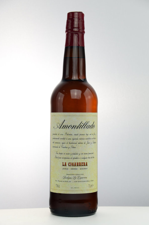 Bodegas Sherry Amontillado La Cigarrera 17% (Sherry)