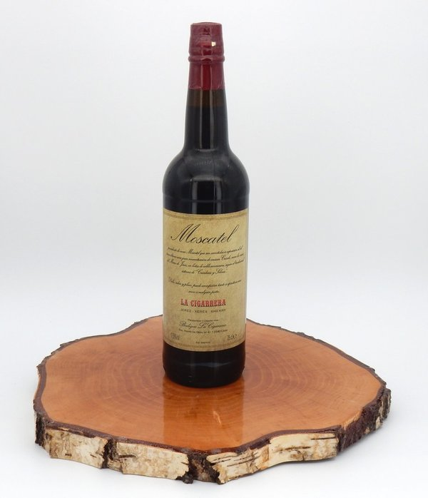 Bodegas Sherry Moscatel La Cigarrera 17,5% (Cream Sherry)