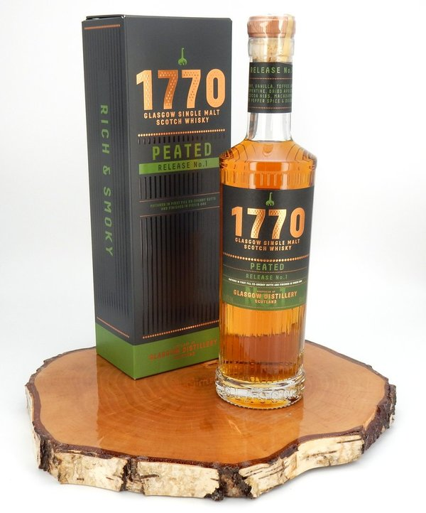 1770 Glasgow Peated - Release No. 1 46% (0,5L)