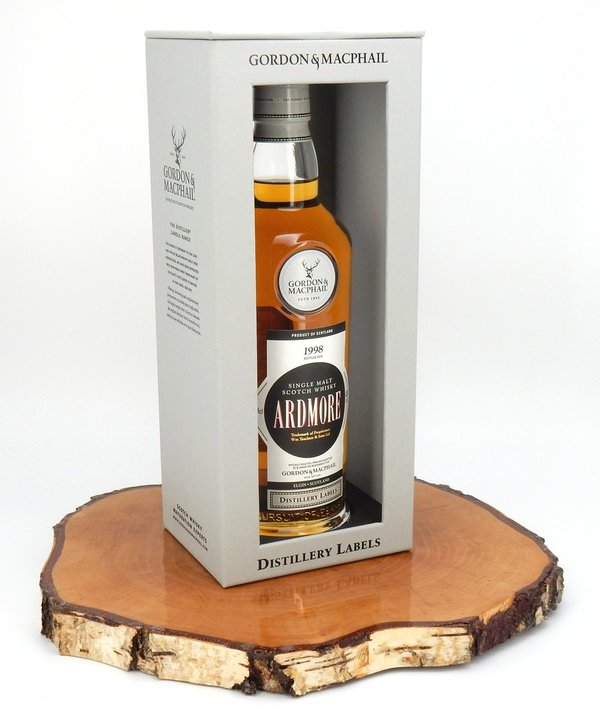 Ardmore 1998/2018 Distillery Label 43% (Gordon & MacPhail)