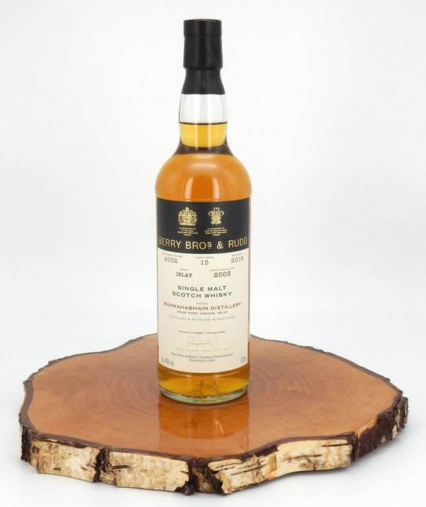 Bunnahabhain 2003/2019 Single Cask #4002 46% (Berry Bros & Rudd)