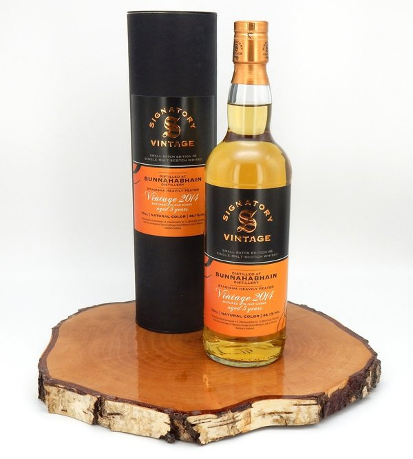 Bunnahabhain 2014/2019 Small Batch Edition #6 Alligator-Cask 48,1% (Signatory Vintage)