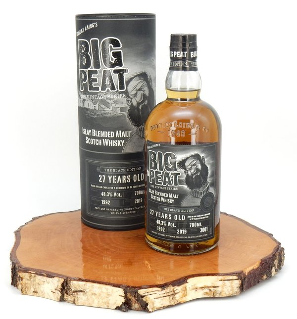 Big Peat 1992/2019 27 Jahre The Black Edition 48,3% (Douglas Laing)