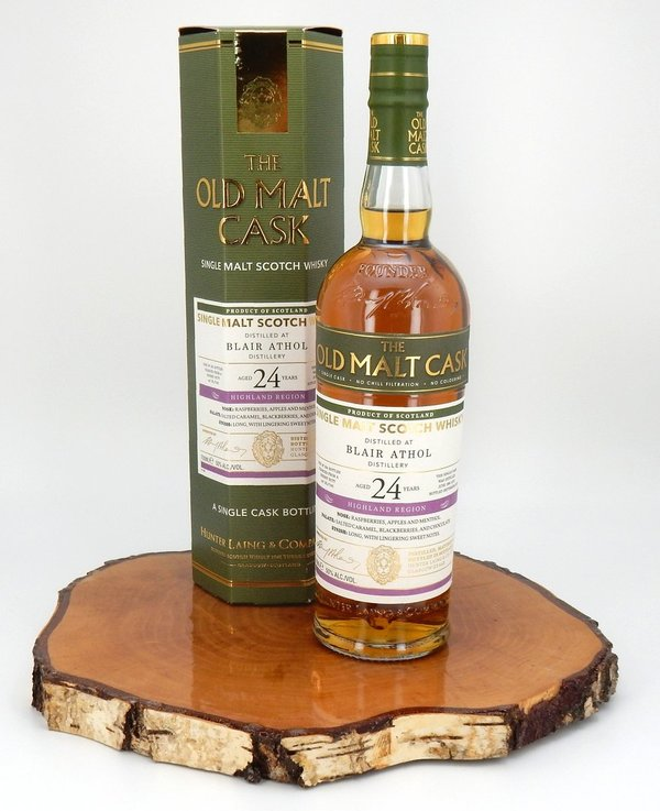 Blair Athol 1995/2019 24 Jahre The Old Malt Cask 50% (Hunter Laing)