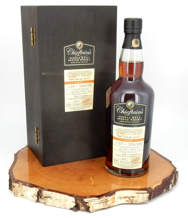 Chieftains 1997/2019 Cigar Malt 55,7% (Ian Macleod)