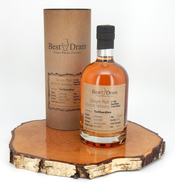 Tullibardine 1st Fill Red Wine Cask Finish 55,9% 0,7l (Best Dram)