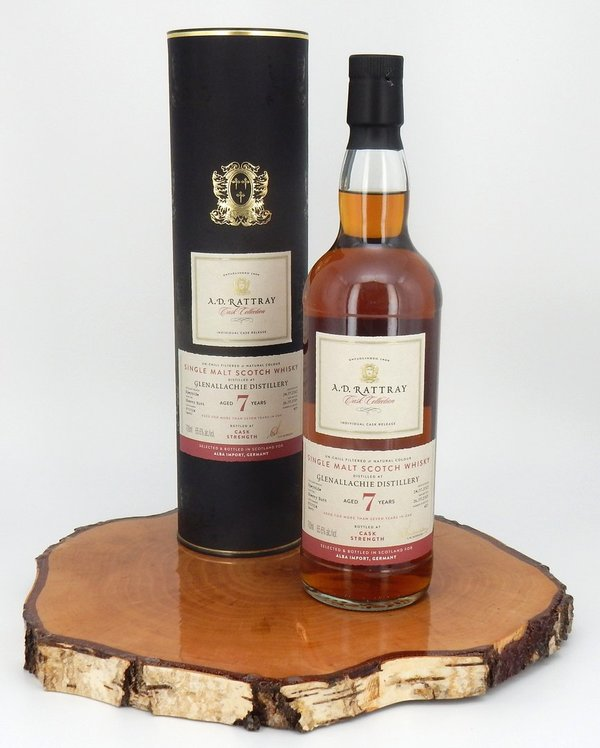 Glenallachie 7 Jahre Sherry Butt #900024 65.6 % (A.D.Rattray)