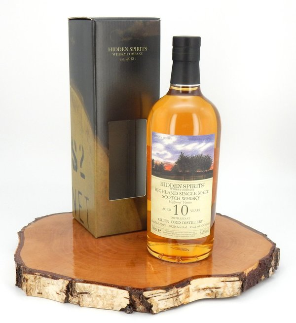Glen Ord 2009/2020 10 Jahre refill sherry cask 53,3 % (Hidden Spirits)