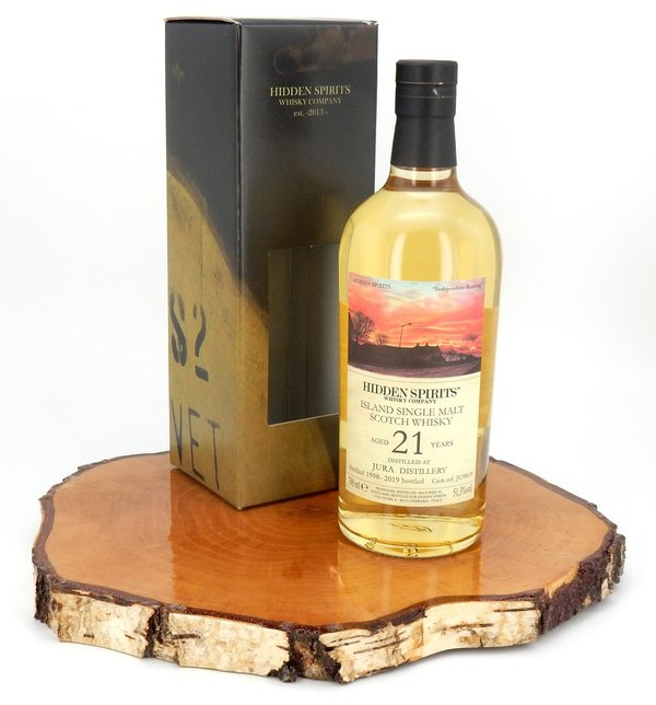 Isle of Jura 1998/2019 21 Jahre #JU9819 51,3 % (Hidden Spirits)