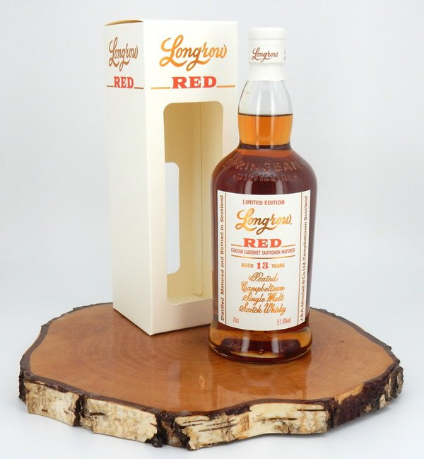 Longrow RED 13 Jahre Cabernet Sauvignon CS 51,6% (2020/Campbeltown)