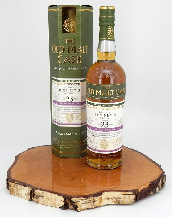 Ben Nevis 1996/2019 23 Jahre The Old Malt Cask 50% (Hunter Laing)