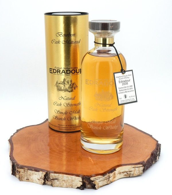 Edradour 2008/2019 Ibisco Decanter Bourbon Cask 56,4%