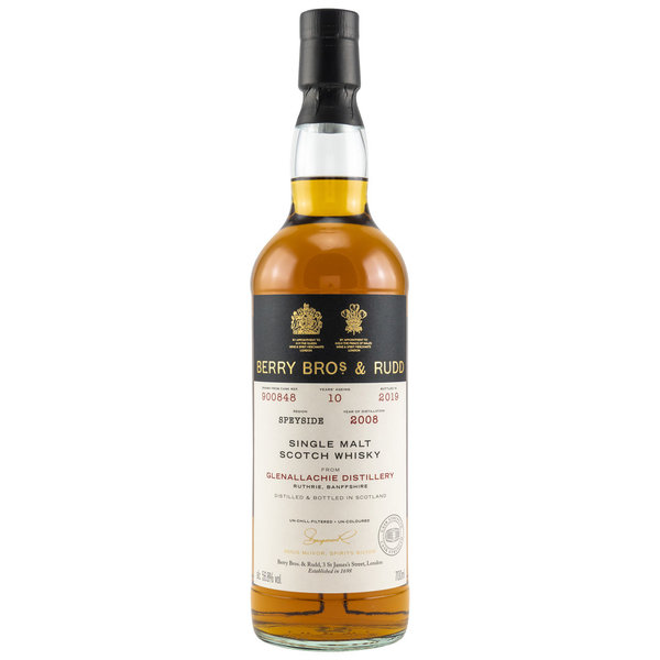 Glenallachie 2008/2019 10 Jahre Single Cask #900848 56,8% (Berry Bros & Rudd)