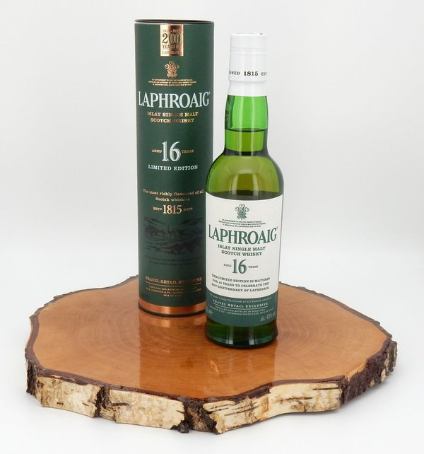 Laphroaig 16 Jahre 200th Anniversary 43% 0,35L (CORONA Support Aktion)