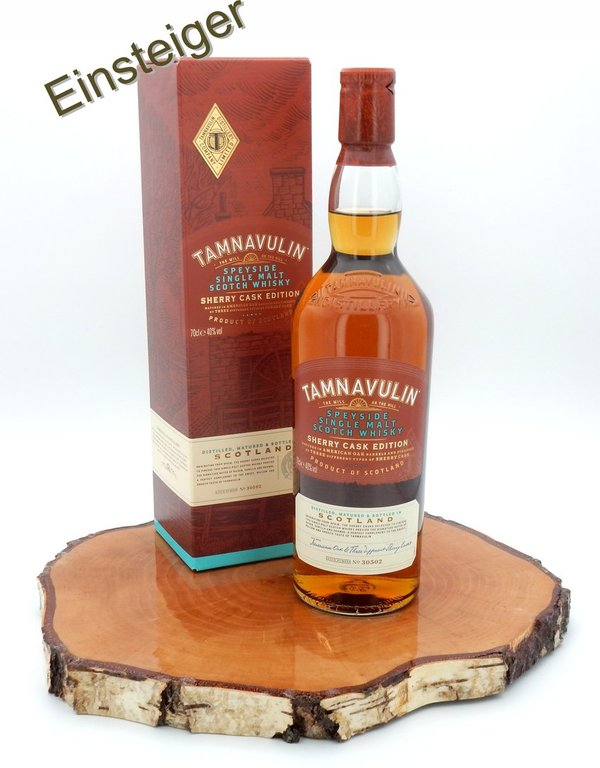 Tamnavulin Sherry Cask 40%