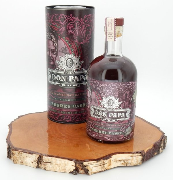 DON PAPA Sherry Cask 45% (Rum)