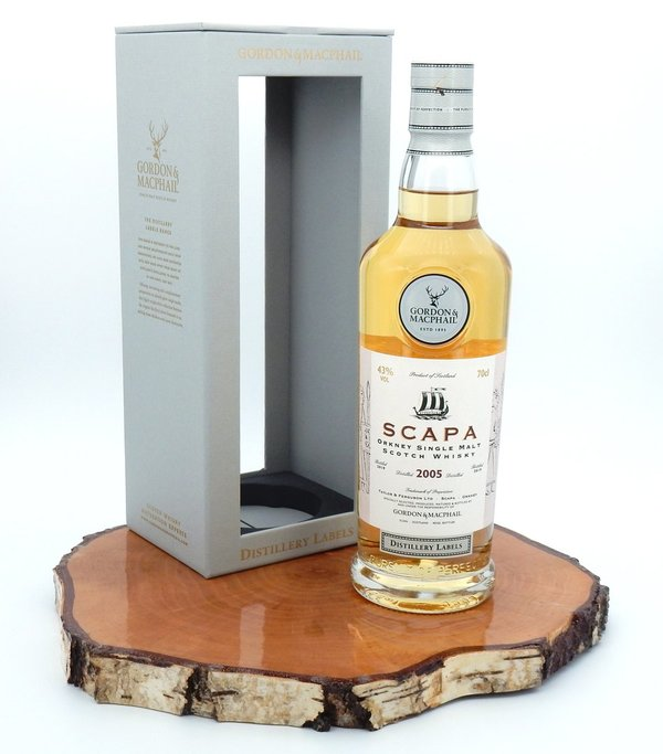 Scapa 2005/2019 13 Jahre Distillery Label 43% (Gordon & MacPhail)