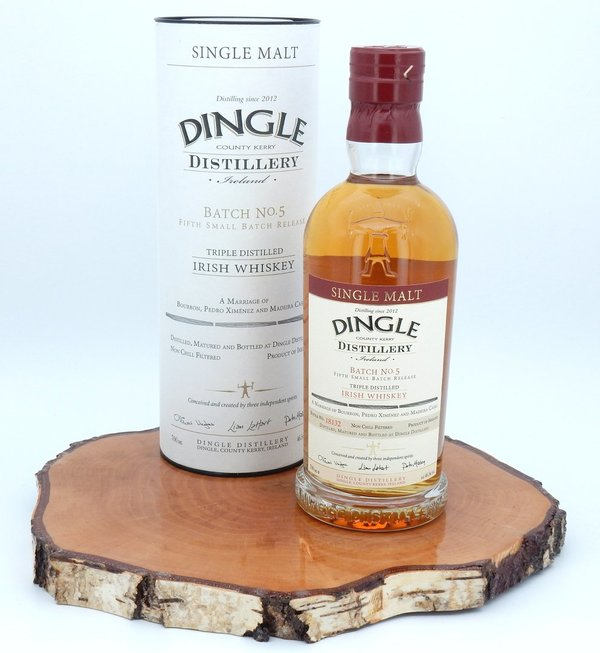 Dingle Single Malt Small Batch 5 46,5% (Irland / Irish Whiskey)