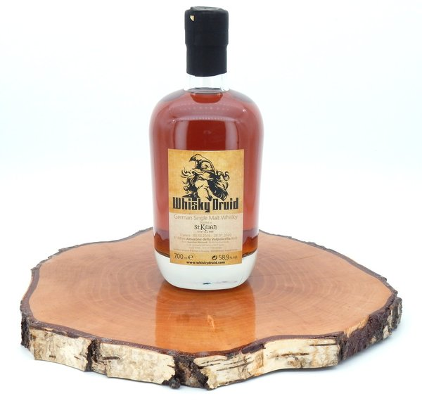 St. Kilian Single Malt Whisky - Ex Amarone Cask 58,9% (Whisky Druid)