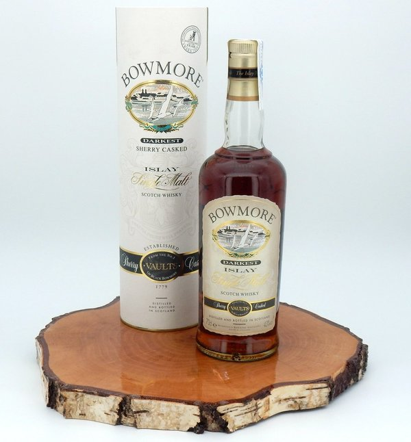 Bowmore darkest Sherry Cask 43% (Seagull Label/2006/Spanien)