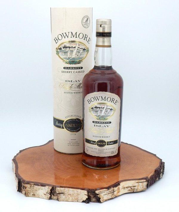 Bowmore darkest Sherry Cask 43% (Seagull Label/2006)