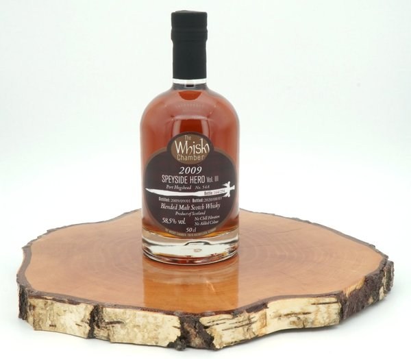 Speyside Hero Vol. III 2009/2020 10 Jahre 1st fill Port 58,5% (The Whisky Chamber)