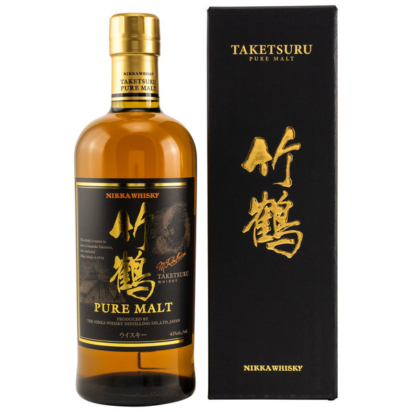 Nikka Taketsuru Pure Malt - in GP black Label 43% (Japan)