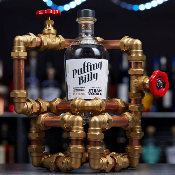 Puffing Billy – Unfiltered Steam Vodka Malted Barley Vodka 40% (Newmake/Wodka)