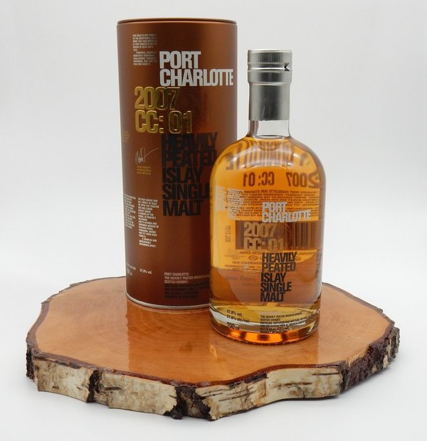 Port Charlotte CC:01 Heavily Peated 2007 57,8% (Bruichladdich)