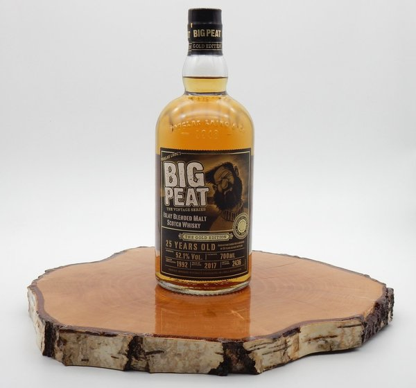 Big Peat 25 Jahre The Gold Edition 52,1% (Douglas Laing)