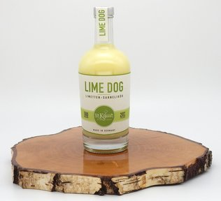 St. Kilian Lime Dog – Limetten-Sahne-Likör. 20 % 500ml