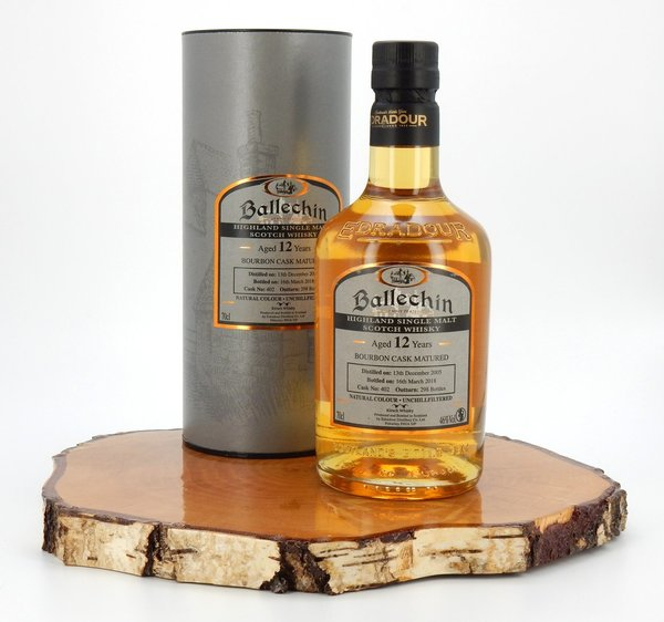 Ballechin 2005 / 2018 Bourbon Cask #402 Matured 46% (Edradour)