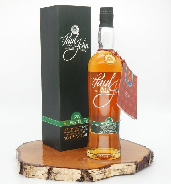 Paul John Peated Select Cask 55,5% (Indien)