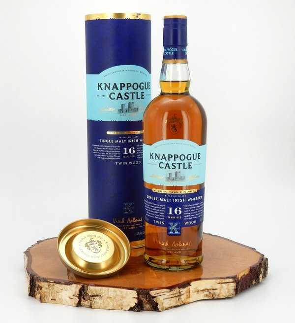 Knappogue Castle 16 Jahre Twin Wood Sherry Cask Finished 40% (Irland)