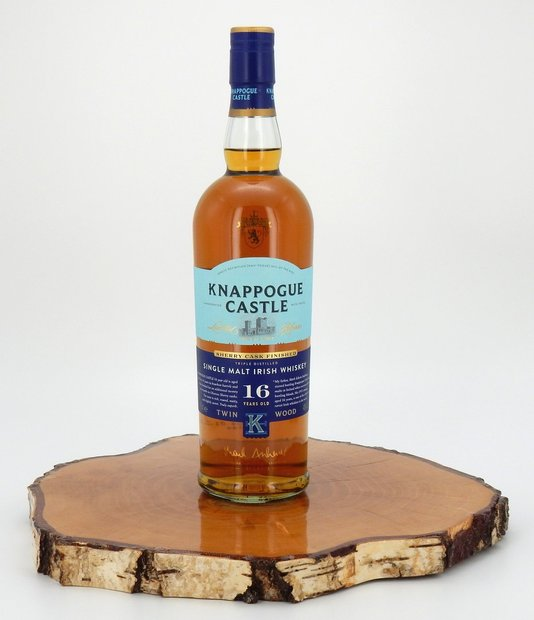 Knappogue Castle 16 Jahre Twin Wood Sherry Cask Finished 40%