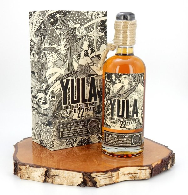 Yula 22 Jahre Chapter #3 Cask Strength 51,2% (Douglas Laing)