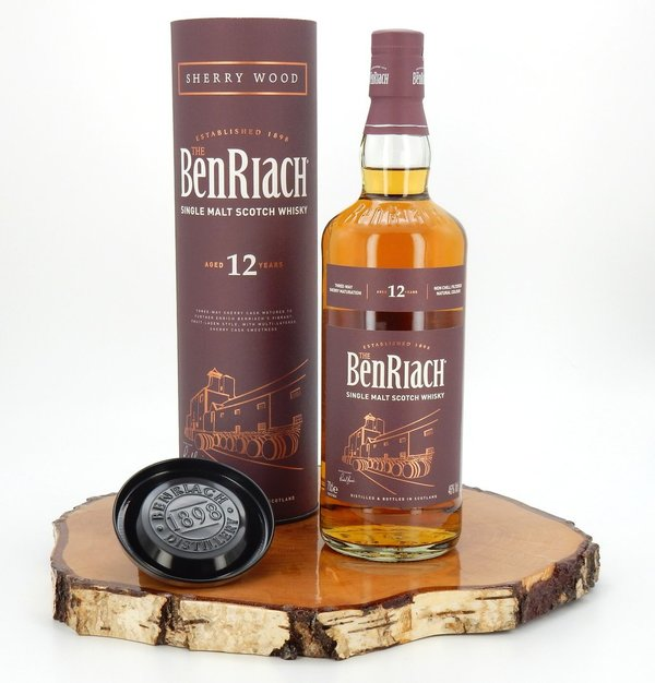 BenRiach 12 Jahre Old Sherry Wood 46% 2018