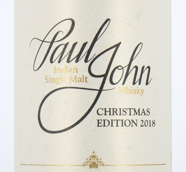 Paul John Christmas Edition 2018 Batch 01 - 46% (Indien)