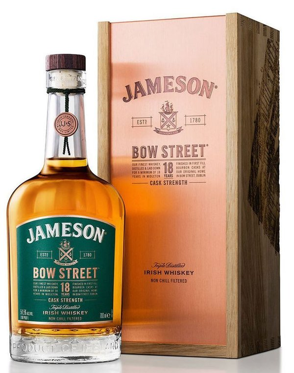 Jameson 18 Jahre Bow Street Cask Strength 55,3%